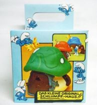 The Smurfs - Schleich 40012 Smurf Little House with Green Roof (mint in box)