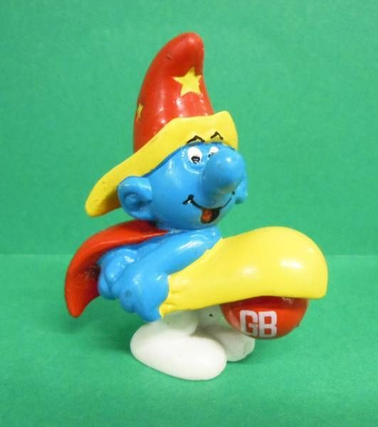 The Smurfs - Schleich Advertising Magicien Smurf Grand Bazaar GB