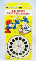 Les Schtroumpfs - Pochette de 3 View-Master 3-D - Le B�b� Schtroumpf 01