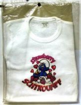 The Smurfs - Vintage White T-shirt - Strawberry Smurf (size 10 years)
