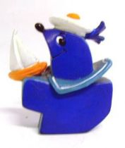 The Tifins - Pvc figure Bullyland - Tifin sailor