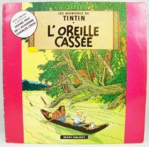 Les Aventures de Tintin - Disque 33T - L\'oreille cassée 01