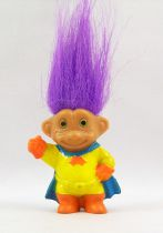 The Trolls - Soma PVC Figure 1992 -  Bat-Troll (Yellow & Blue)