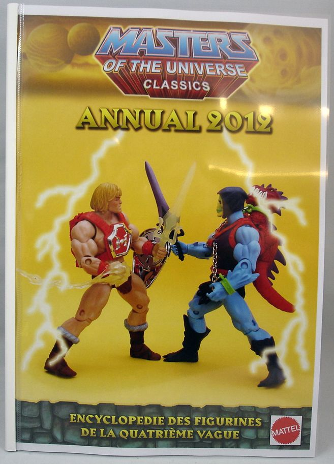Encyclopédie non-officielle des figurines MOTU Classics - Vol. 4  Annual 2012