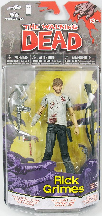 The Walking Dead (Comic Book) - Rick Grimes