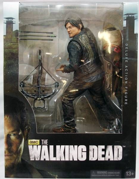 the walking dead tv series daryl dixon figurine deluxe 25cm. Black Bedroom Furniture Sets. Home Design Ideas