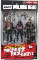 The Walking Dead (TV Series) - Michonne, Rick & Daryl (Heroes 3-pack)