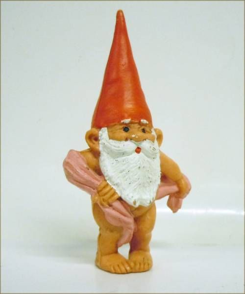 The world of David the Gnome - PVC Figure - David and Susan have a bath