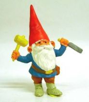 The world of David the Gnome - PVC Figure - David carpenter