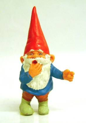 The world of David the Gnome - PVC Figure - David laughs