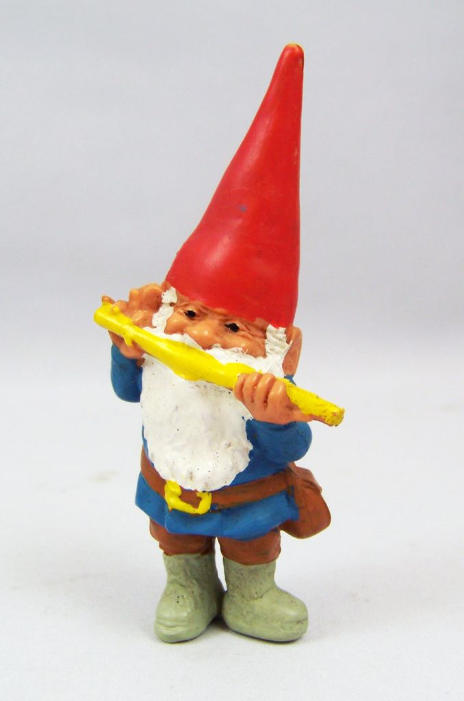 The world of David the Gnome - PVC Figure - David plays of the Flute