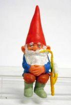 The world of David the Gnome - PVC Figure - David smokes a pipe