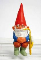 The world of David the Gnome - PVC Figure - David smokes a pipe