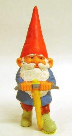 The world of David the Gnome - PVC Figure - David with a Pickaxe