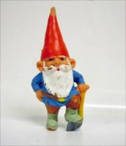 The world of David the Gnome - PVC Figure - David with an Axe