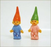 The world of David the Gnome - PVC Figure - Gnome Baby Twins (Girl & Boy)