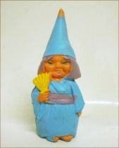 The world of David the Gnome - PVC Figure - Japanese Girl Gnome