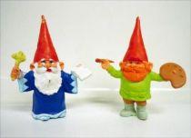 The world of David the Gnome - PVC Figure - Klaus and Dani
