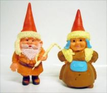 The world of David the Gnome - PVC Figure - Lapp gnomes
