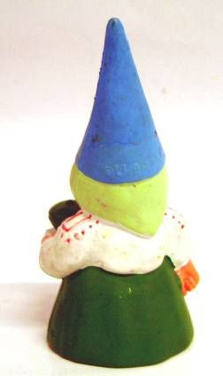 The world of David the Gnome - PVC Figure - Lisa serves the Tea (green dress)