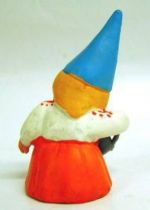 The world of David the Gnome - PVC Figure - Lisa with a watering-can (orange dress)