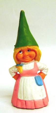 The world of David the Gnome - PVC Figure - Susan (pink dress)