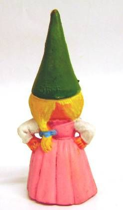 The world of David the Gnome - PVC Figure - Susan (pink dress)