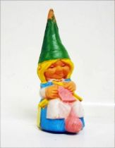 The world of David the Gnome - PVC Figure - Susan knits (blue dress)