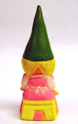 The world of David the Gnome - PVC Figure - Susan knits (pink dress)