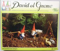 "The world of David the Gnome - PVC Figure boxed set Star Toys - ""Gnomes in the forest\"""