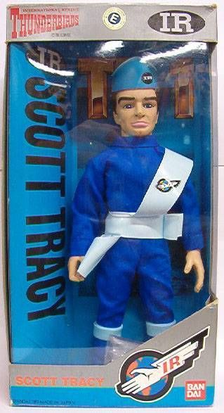 Thunderbirds - Bandai - Scott Tracy 10 inches