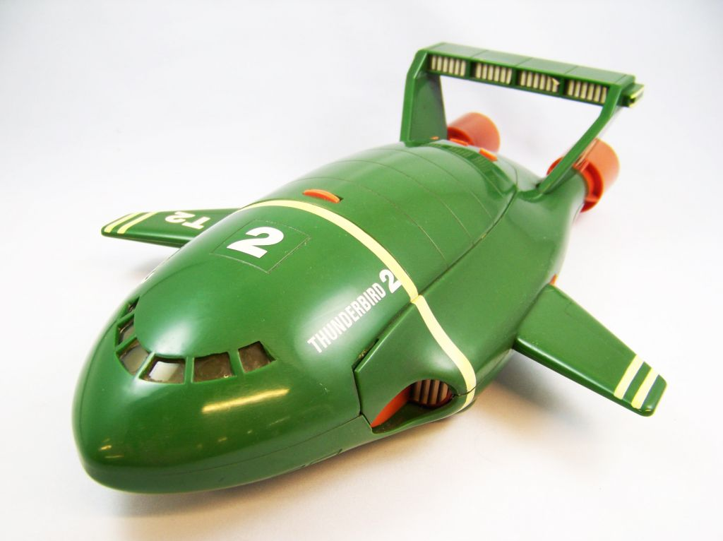 Thunderbirds - Matchbox - TB2 Electronique 43cm & TB4 (Occasion) 01