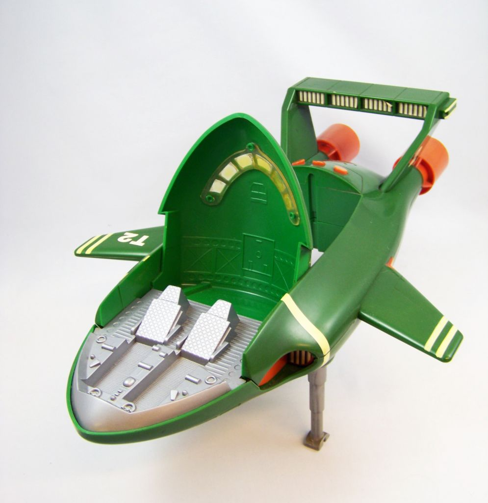 Thunderbirds - Matchbox - TB2 Electronique 43cm & TB4 (Occasion) 04