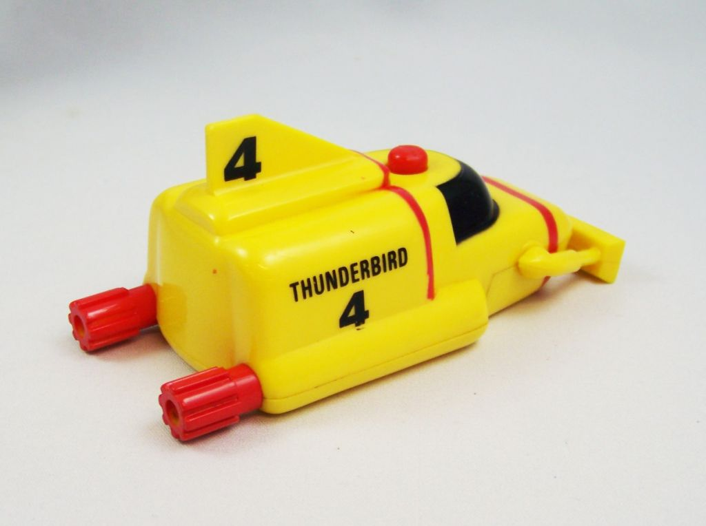 Thunderbirds - Matchbox - TB2 Electronique 43cm & TB4 (Occasion) 06