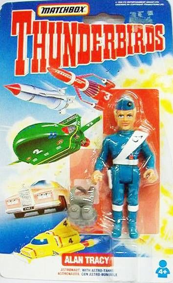 Thunderbirds - Matchbox - Alan Tracy