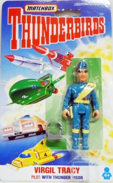Thunderbirds - Matchbox - Complete Set of 10 Action Figures (Mint on Card )