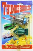 Thunderbirds - Matchbox - Set of 3 Pull Back Action Vehicles (Mint on card)