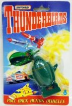 Thunderbirds - Matchbox - TB2 Pull Back Action Vehicle (Mint on card)