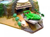 Thunderbirds - Matchbox - Tracy Island (playset) + TB1, TB2, TB3 & TB4 Matchbox Loose