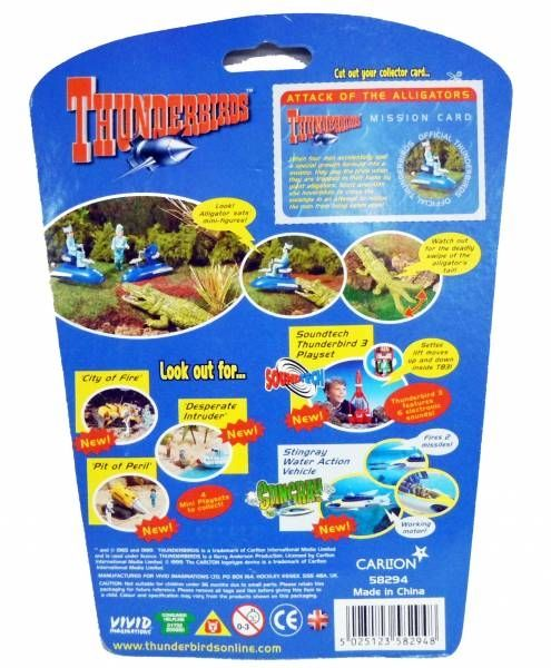Thunderbirds - Vivid - \'\'Attack of the Alligators\'\'