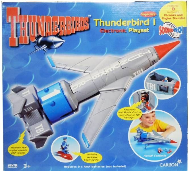 Thunderbirds - Vivid - TB1 \'\'Supersize\'\' Electronic Playset (loose in box)