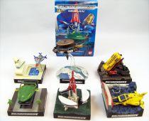 Thunderbirds (2004) - Bandai - Thunderbirds Meikan (set of 6 vehicles)