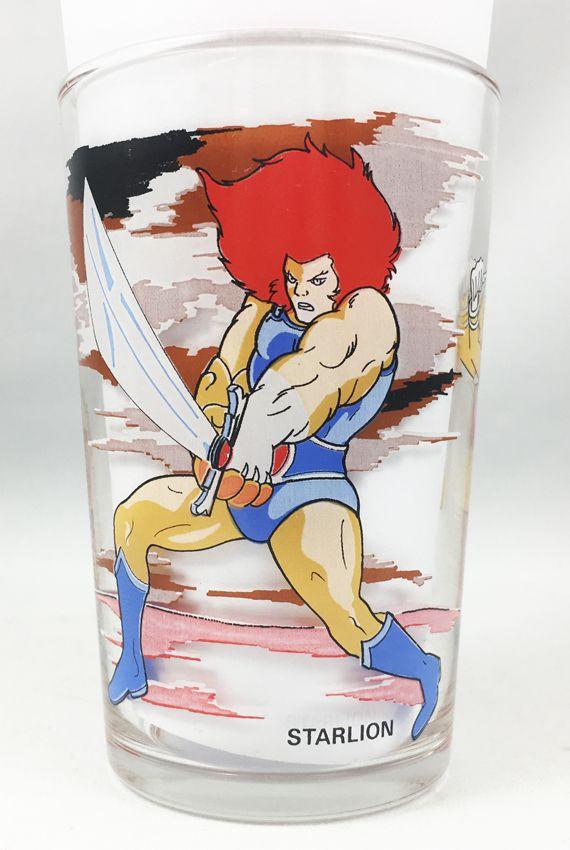 Thundercats - Amora Mustard glass - Lion-O, Cheetarah & Monkian