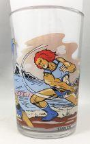 Thundercats - Amora Mustard glass - Lion-O, Jackalman, Tygro, Berbil