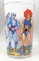 Thundercats - Amora Mustard glass - Lion-O, Panthro, Tygro, Cheetara, Wilykat & Wilykit