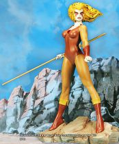 Thundercats - Hard Hero Cold Cast Porcelain Statue - Cheetara
