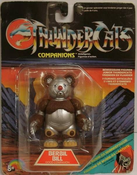 Thundercats - LJN - Berbil Bill (mint on card)