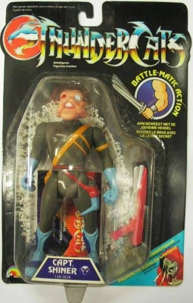 Thundercats - LJN - Captain Shiner (mint on card)
