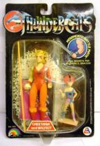 Thundercats - LJN - Cheetara & Wilykit (mint on card)