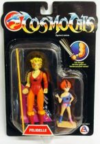 Thundercats - LJN - Cheetara & Wilykit (mint on french card)